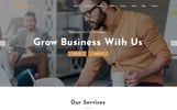 Expro - Parallax Landing Page Template
