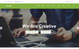 Profit - Parallax Landing Page Template