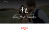 Wedding - Parallax Landing Page Template