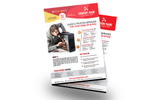 Computer Repair or Servicing Flyer Corporate Identity Template
