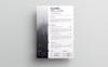 Kavien Pelloger-cv Resume Template Big Screenshot