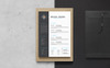 Michael Jenkins Clean Resume Template Big Screenshot
