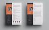 Shuvo Designer Resume Template Big Screenshot