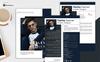 Harley Keener - Resume Template Big Screenshot