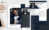 Harley Keener - Resume Template
