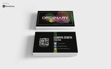 Ordinary - Business card Corporate Identity Template