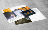Creative Agency Postcard Corporate Identity Template
