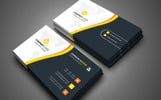 Creative business card Corporate Identity Template