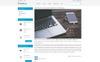 Tema de PrestaShop para Sitio de Tienda de Electrónica Captura de Pantalla Grande