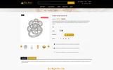"""Starjewel - Jewellery Store"" 响应式PrestaShop模板"