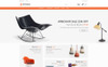 """Lachaise - Furniture Store"" thème PrestaShop adaptatif Grande capture d'écran"
