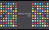 Social Media Iconset Şablon Büyük Ekran Görüntüsü