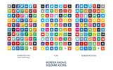 Social Media Iconset Şablon