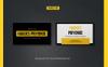 """""""Hagoes - Modern"""" modèle de CV  Grande capture d'écran"""