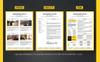 Solehman - Modern Resume Template Big Screenshot