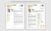 Szablon resume Complete #71068 Duży zrzut ekranu