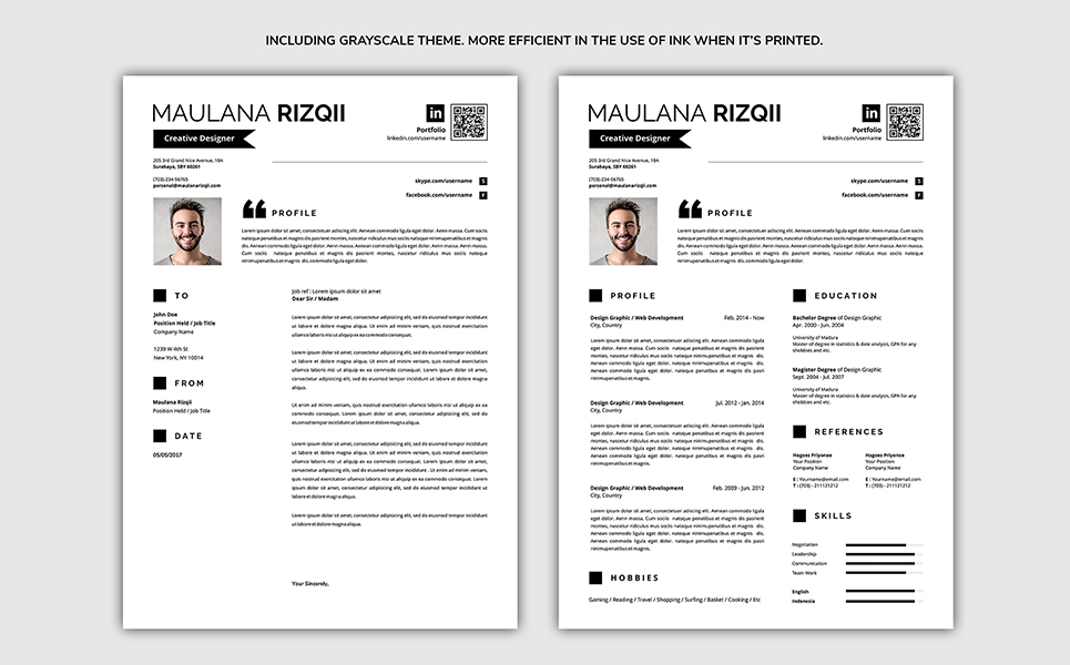 complete resume template  71068