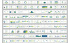 Premium Infographic PowerPointmall En stor skärmdump
