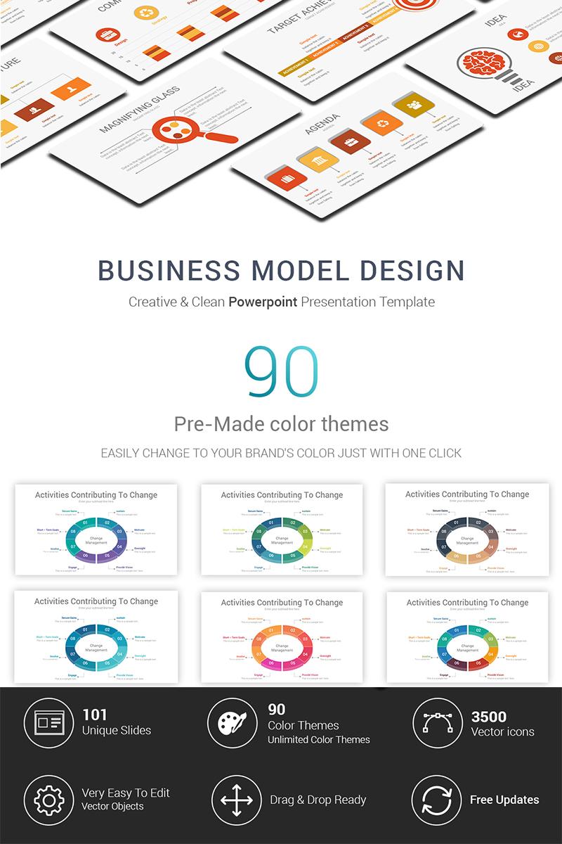Business model design powerpoint template 69601 toneelgroepblik Choice Image