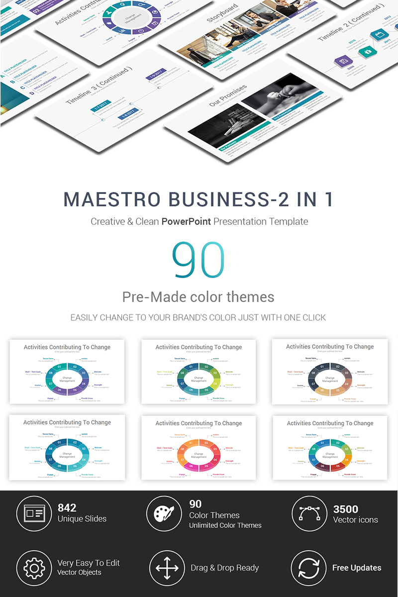 Maestro business powerpoint template 71875 accmission