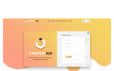 "PSD Vorlage namens ""Creativeico - Website Multipurpose Creative Agency"""