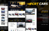 """Pcrt Cars - Automotive Car Dealer"" BootstrapPSD模板"