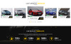 """Pcrt Cars - Automotive Car Dealer"" BootstrapPSD模板 大的屏幕截图"