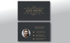 Alex Smith 2 Style Clean Business Card Corporate Identity Template Big Screenshot