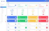 """Neon - Responsive Bootstrap 4 UI Kits"" 响应式控制面板模板"