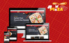 Responsivt Pizza - Food Multipurpose Shopify-tema En stor skärmdump