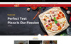 "Shopify шаблон ""Pizza - Food Multipurpose"" Большой скриншот"