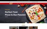"Shopify шаблон ""Pizza - Food Multipurpose"""