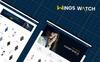 Tema Shopify para Sitio de Relojes Captura de Pantalla Grande