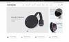 Tema Shopify para Sitio de Tienda de Móviles Captura de Pantalla Grande