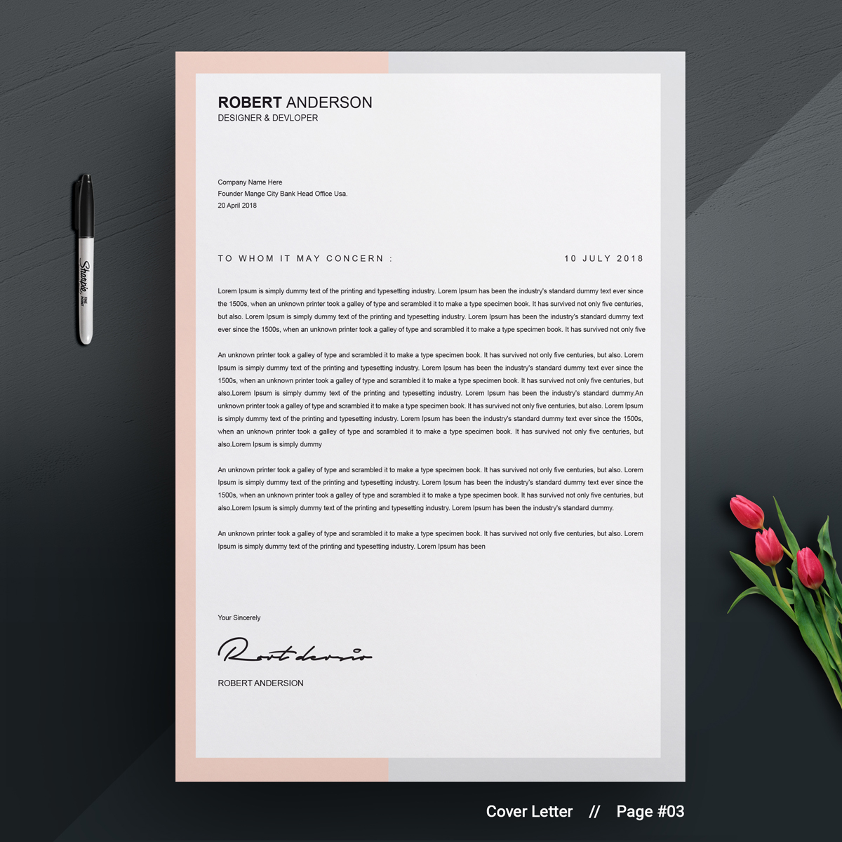 Professional - Resume Template #71134
