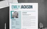 Emily Jacsion Word Resume Template