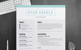 Ryan Parker  Professional Resume Template