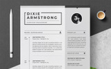 Dixie Resume Template