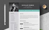 Nicolas Dumas Resume Template