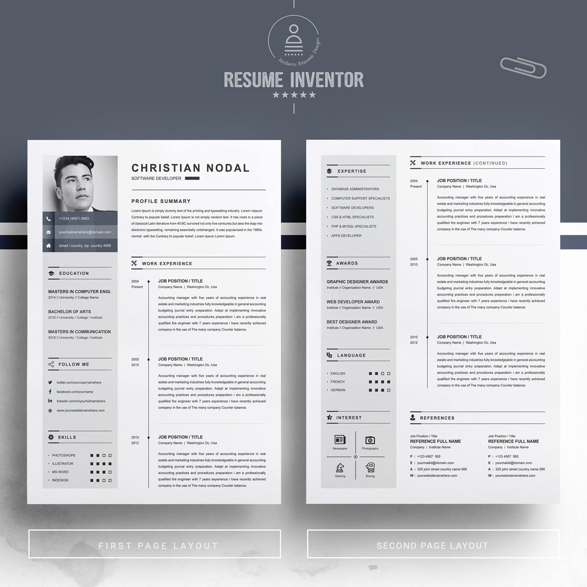 https://s3u.tmimgcdn.com/1860567-1553349815190_02_2-Pages-Free-Resume-Design-Template.jpg