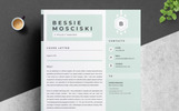"""Bessie Resume Template"" modèle de CV"