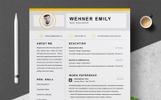 Premium Wehner Resume Şablonu