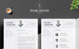 Premium Ayana Resume Template