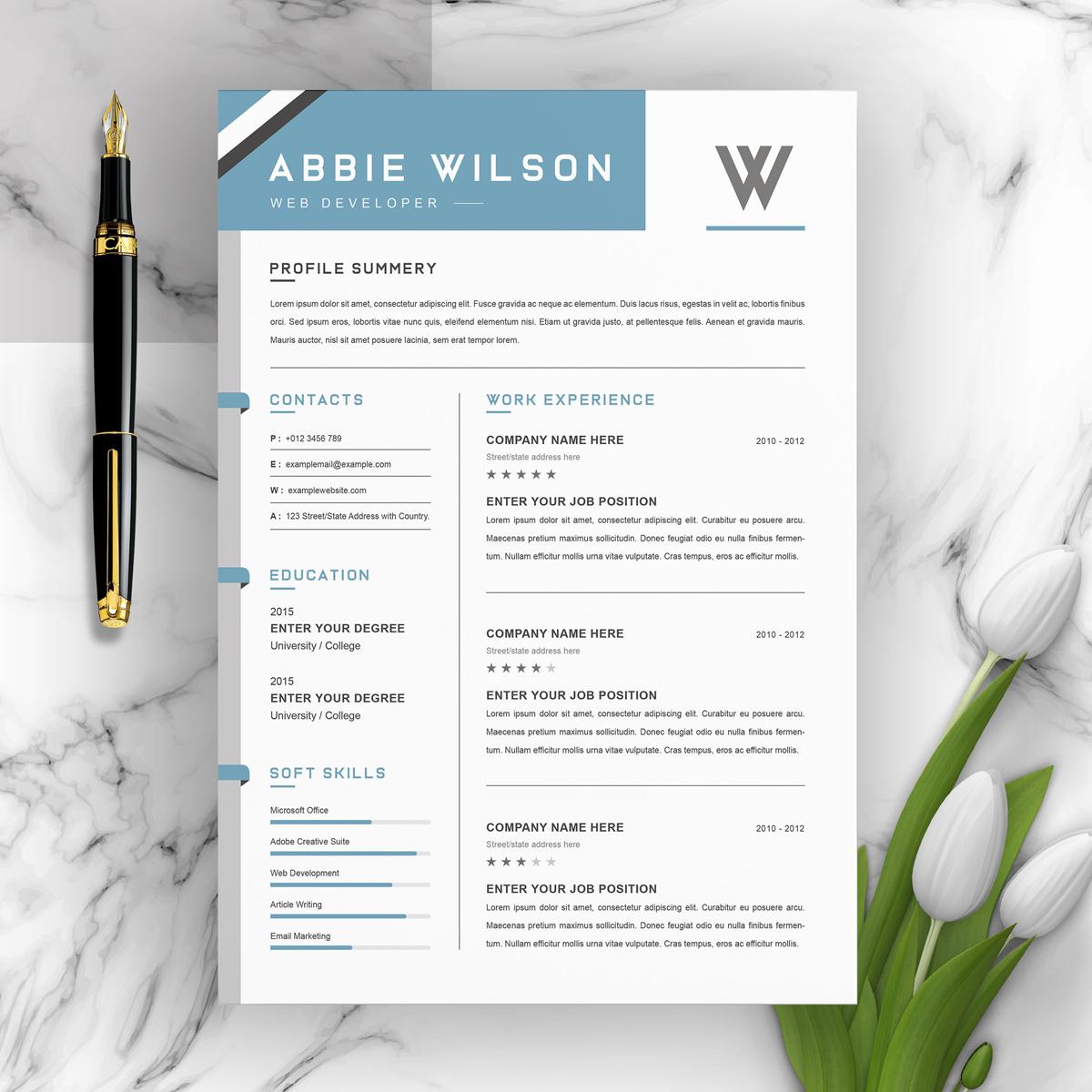 https://s3u.tmimgcdn.com/1860567-1580631489313_01_2-Pages-Free-Resume-Design-Template.jpg