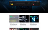 Punibor Gaming - Powerful Website Template