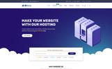Reszponzív BDevs - Hosting Provider & WHMCS Weboldal sablon
