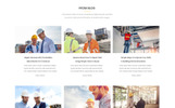 Revo Construction Multi - Page Web Template Photoshop  №71567