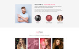 Soulcare Spa Web PSD Template