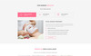 Soulcare Spa Web PSD Template Big Screenshot