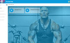 Your GYM App Template Big Screenshot